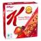 Frutas Rojas: Barritas de cereales de arroz y trigo con pedacitos de arándanos