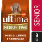 Alimento Perro Seco Ultima Medium Maxi Senior  -
