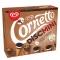 Helado de cono Disc mini de galleta y chocolate y avellana