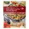 Salteado de bulgur y quinoa con verduras