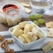 Snack mixto queso parmesano, cheddar mature y gouda curado -