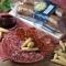 Lote chorizo iberico extra + salchichon iberico extra -