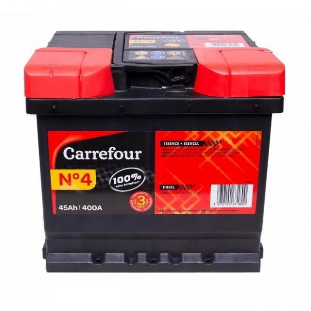 Batería de Coche Carrefour Nº4 AH 45