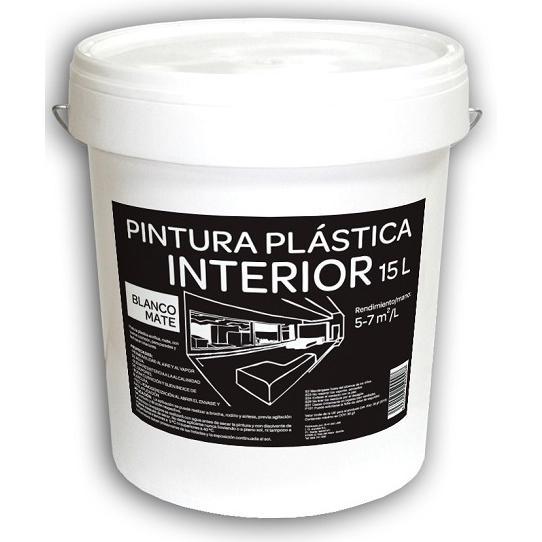 Pintura Plástica Interior 15L Blanca Mate