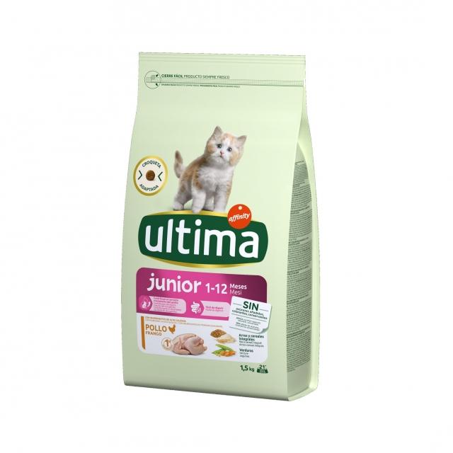 Alimento Ultima Cat Junior 1,5kg