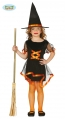 Orange Witch Infantil Talla 7-9 Años