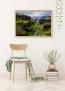 Panorama® Lienzo Islandia Círculo Dorado 70 X 50 Cm   Impreso En Lienzo De Alta Calidad Con Bastidor   Cuadros Paisajes   Cuadros Zen   Cuadros Decoración Salón   Cuadros Para Dormitorio