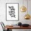 Panorama® Póster You Are What You Eat 35x50cm | Impreso En Papel | Cuadro Frases Positivas De 250gr | Póster Pared | Cuadros Decoración Salón | Cuadros Para Dormitorio | Póster Decorativos