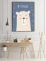 Panorama® Lienzo Infantil Para Habitación Oso My Dreams 35x50cm | Impreso En Lienzo Con Bastidor | Cuadros Infantiles | Cuadros Para Habitación Bebés Y Niños | Decoración Habitación Bebé
