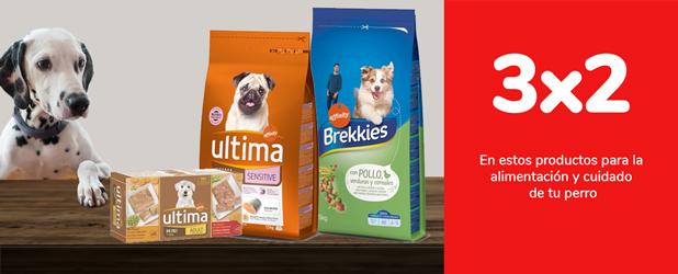 3x2 en estos productos para la alimentación y cuidado de tu perro
