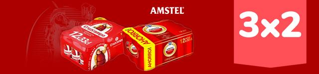 Cruzcampo + Amstel