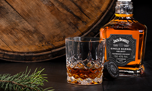 Jack Daniel's Single Barrel - Perfect Serve