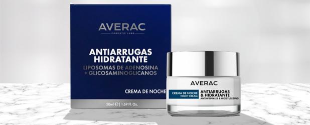 Crema de noche anti-arrugas hidratante Averac