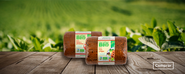 Rulo de tofu y algas o setas con pimientos Carrefour BIO 750g