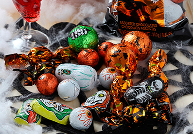 Chocolates variados Halloween