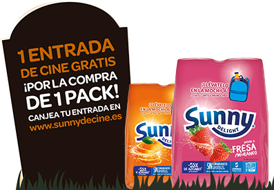 Zumo refrigerado Sunny Delight 20ml.Pack 4u
