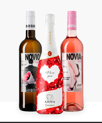 El Novio Perfecto,  La Novia Ideal y Anna de  Codorníu I Love You