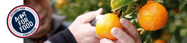 Nuestras frutas y verduras son de origen nacional