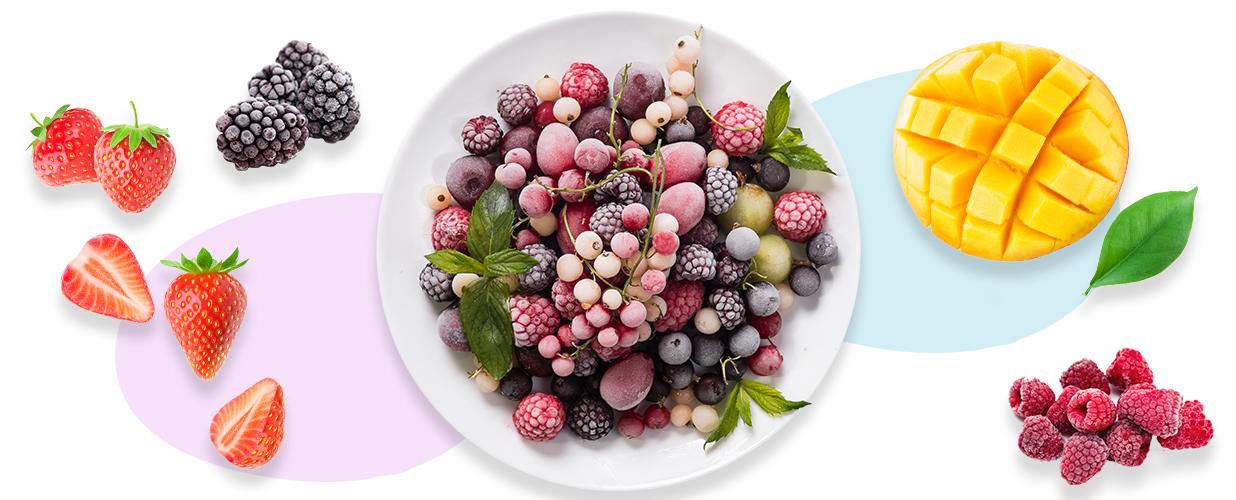 Fruta Helada