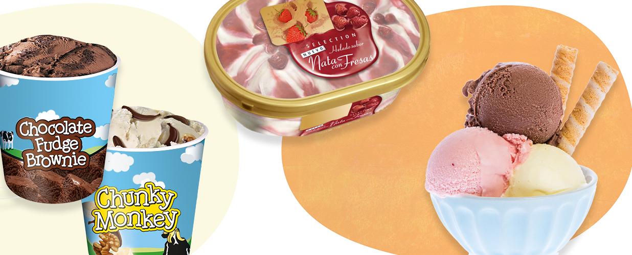 Tarrinas de helado