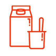 Yogures, postres y lácteos