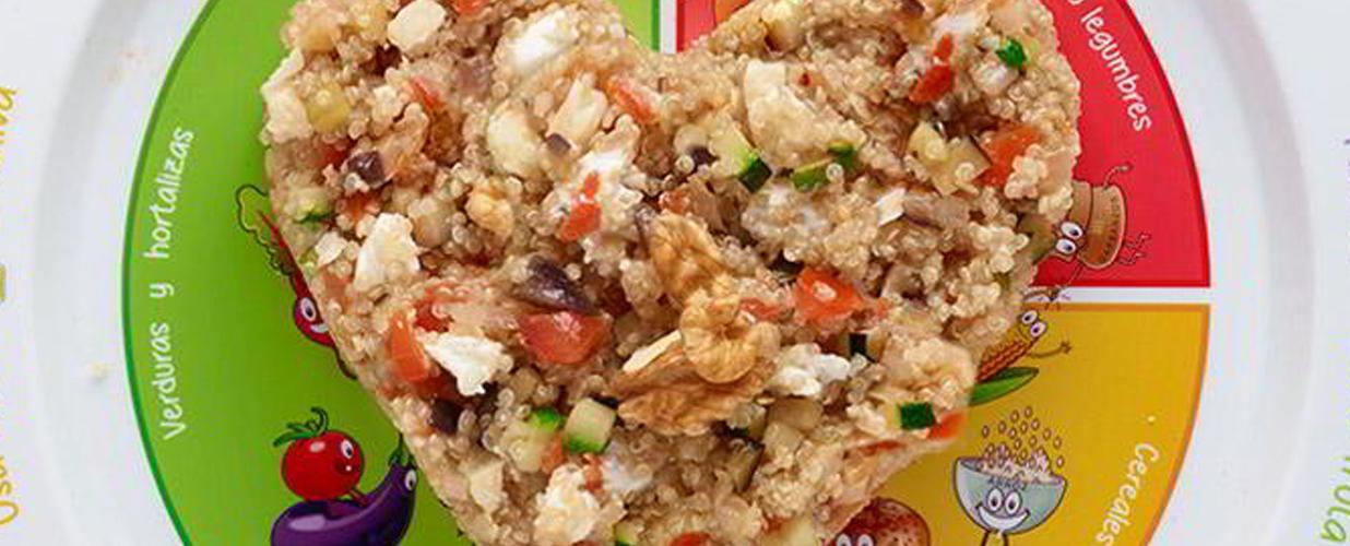 quinoa mediterránea