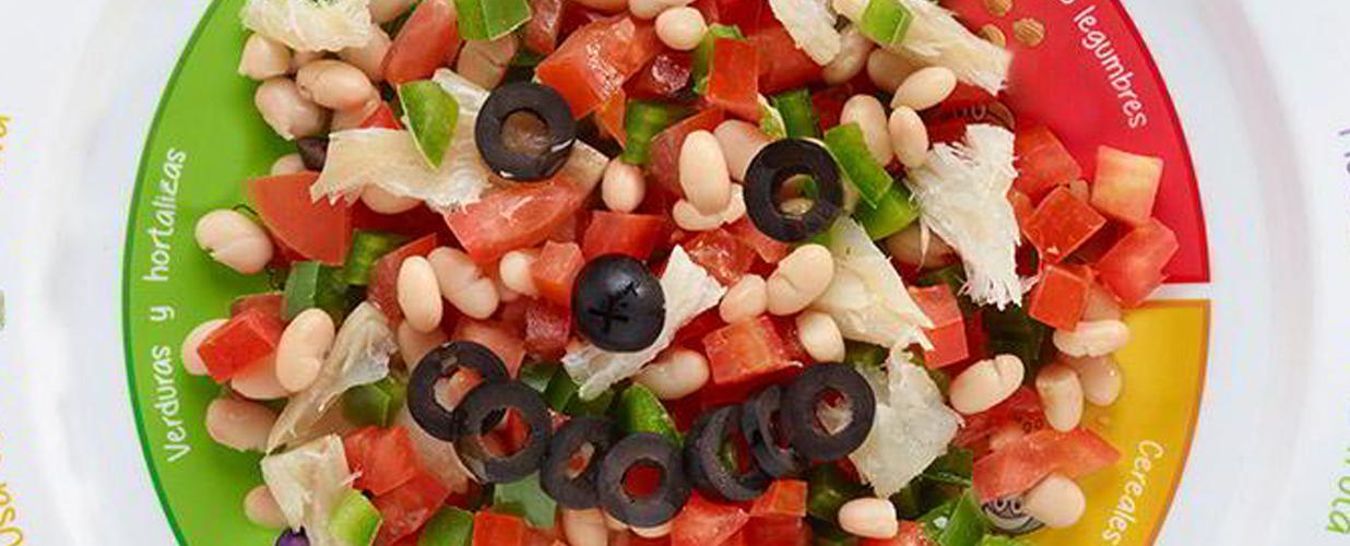 ensalada tricolor