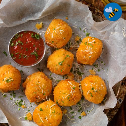 delicias de pollo y queso
