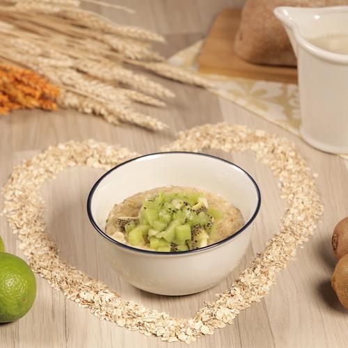 porridge con kiwi y lima