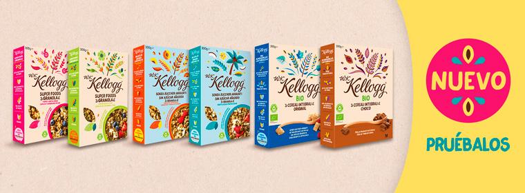 Las variedades W.K.Kellogg ®