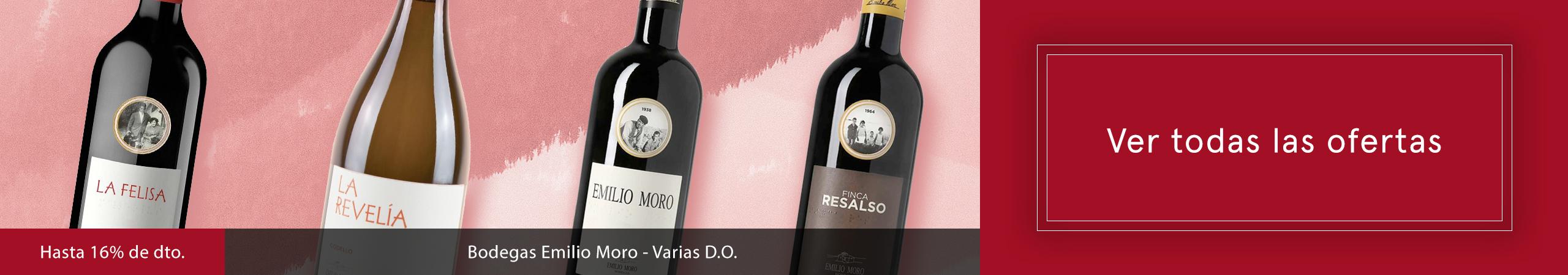 Hasta 16% de dto - Bodega Emilio Toro - Varias D.O. - Ver más ofertas