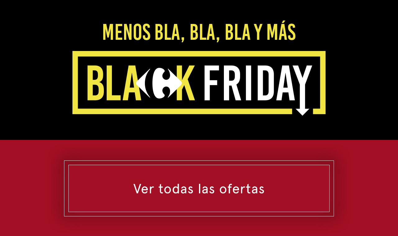 Black Friday - Ver todo