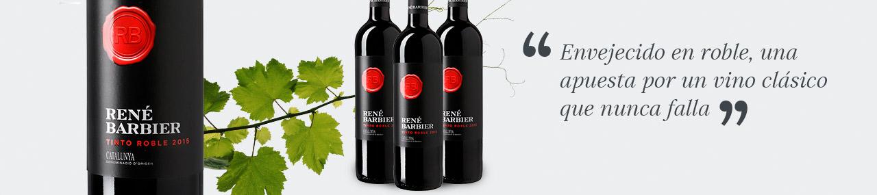OFERTA DEL DÍA -20% dto - 6 botellas de René Barbier Tinto Roble (hasta agotar existencias)