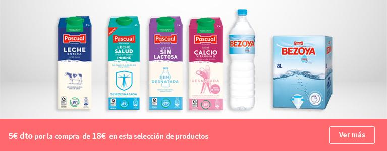 5€ de descuento en tu compra en esta seleccion de productos