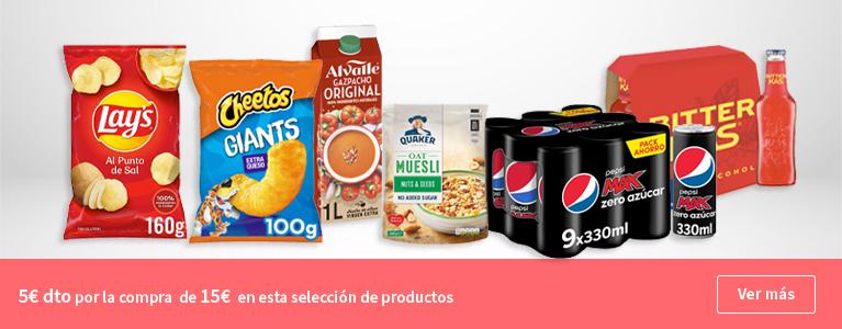 5€ de descuento en tu compra en esta selección de productos