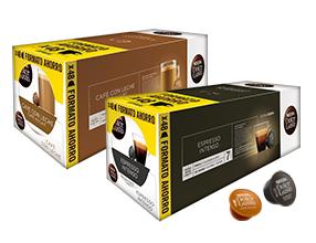 Llévate 3 packs de Nescafé Dolce Gusto con un 20% de descuento