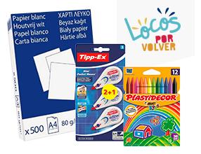 Vuelta al cole: ofertas en papelería