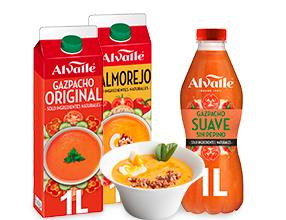 3x2 Gazpacho Original o Suave Alvalle