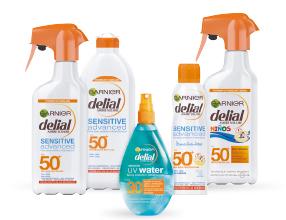 2ª -50% En todos los productos solares Delial