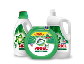 2ª -50% en todos los detergentes Ariel Actilif Original