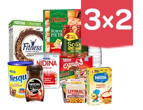 3x2 en una gran selección de artículos Nestlé