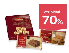 2ª -70% y ofertas en estos dulces de Navidad