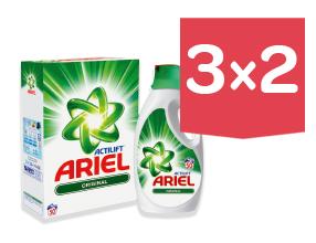 3x2 En TODOS los detergentes ARIEL