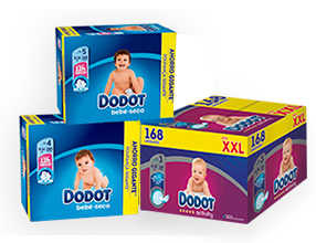 Ahorra 6€ por la compra de cualquiera de estos pañales Dodot