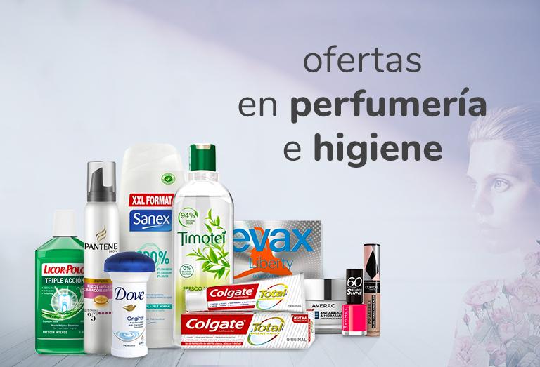 Ofertas en perfumería y cuidado personal