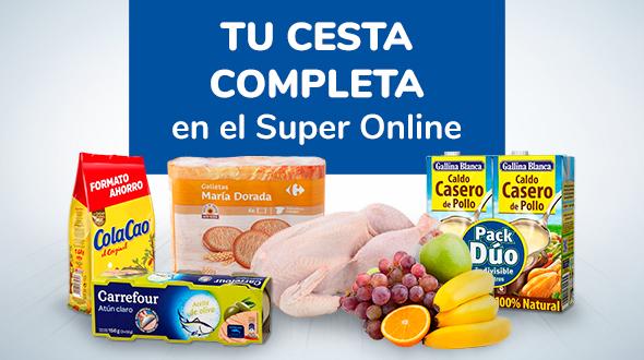 Tu cesta de la compra completa en el Super Online