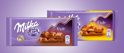 Nueva combinación de chocolate